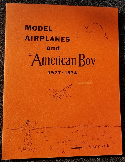 Image for Model Airplanes and the American Boy 1927-1934