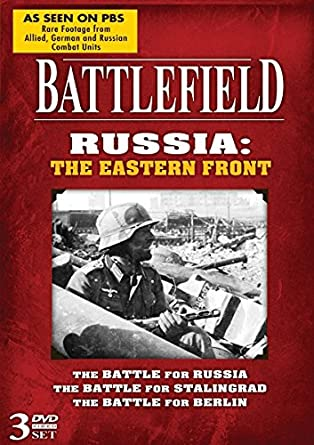 Image for Battlefield Russia: The Eastern Front! 3 DVD Set!
