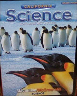 Image for California Science Explore Activities DVD, Grade 3