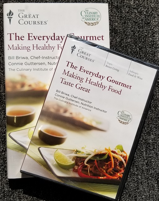 Image for The Everyday Gourmet: Making Healthy Food Taste Great (The Great Courses: One DVD with six lectures and the course hardcover book)