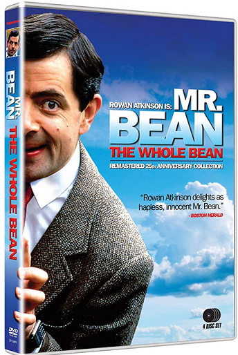 Image for CINEDIGM Mr. Bean: The Whole Bean (Complete Series) (25th Anniversary Edition)