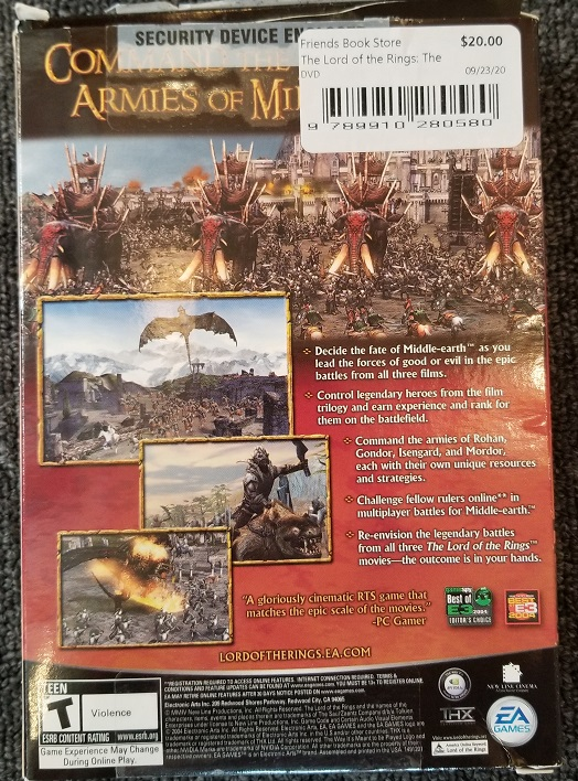 Image for The Lord of the Rings: The Battle for Middle-Earth (DVD-ROM) - PC