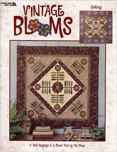 Image for Vintage Blooms: 6 Wall Hangings & a Bonus Tote (Quilting, 3558)